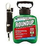 Roundup 32660 Express Fertigmischung im Drucksprüher zur Bekämpfung von Unkräutern und Gräsern im Garten, 2,5 L