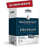 IVARIO Labor-Wassertest Premium Check (50 Prüfwerte) für Trinkwasser/Leitungswasser, Experten-Analyse im akkreditierten Deutschen Fachlabor inkl. Legionellentest/24h-Versand