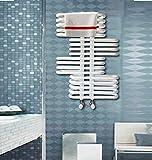 JIEZ Modern Creativity Wandheizkörper - Heizkörper aus Stahl - Gute Abdichtung,Starke Korrosionsbeständigkeitsheizung - Wird im Wohnzimmer verwendet,Büro,Hotel,Etc 0.8m blau
