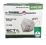 ECT FFP2 Atemschutz Maske DEKRA geprüft nach CE 0158 20er Faltbox