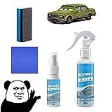 Iron Powder Remover,Rostumwandler Spray-Rost Entfernen Autopolitur,Flugrostentferner Auto Wartung,Autopflege Reinigung RostlöSer