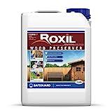 Roxil Wood Preserver gegen Schimmel, Trocken- und Nassfäule, Pilz & Holzwurmbefall (5 Liter)