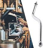 Lairun Elektroplatte Kupfer Pratical Kaffeemilchriegel, Dampfrohr, Milchriegel, für Maschine halbautomatische Kaffeemaschine