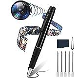 Mini-Sicherheitskamera-Stift für Kamera, tragbar, HD, 1080P, 32 GB, Taschenkamera, Audio, Video, Fotoaufnahme, Mikrokamera, digital, sprachaktivierter Rekorder für Business und Konferenz