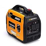 IEKHEM Inverter Stromgenerator 3100W Benzin 4 Takt mit USB und 230 V Steckdosen Superleise und leicht als Notstromaggregat für Camping Reise Garage wohnwagen