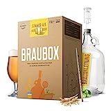 Braubox®, Sorte Summer Ale I Bierbrauset zum Bier brauen in der Küche I mit Erfolgsgarantie von Besserbrauer I Männer I Männergeschenke