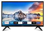 DYON Smart 22 XT 56,4 cm (22 Zoll) Fernseher (Full-HD Smart TV, HD Triple Tuner (DVB-C/-S2/-T2), Prime Video, Netflix, YouTube & HbbTV, WLAN, Hotel Modus)