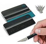Rakel-Set von KING KONG STATE - hochwertiges Folierungs-Werkzeug-Set mit Präzisionsmesser und Folienrakel