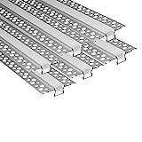 LED Trockenbauprofil ,6x1 Meter AluProfil für LED-Streifen,Trockenbau-Aluminium-LED-Profil,LED-Streifen Diffusor Profil für Wände und Decken