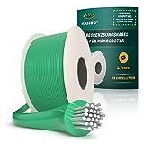 kanoo® Begrenzungskabel für Mähroboter – Universell kompatibel – Begrenzungsdraht aus Qualitätskupfer – Mähroboter Kabel für Rasenroboter von Husqvarna, Gardena, Bosch, Stihl, uvm. Ø2,7mm - 150m