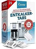 Entkalkungstabletten für Kaffeevollautomaten 20 Tabs - kompatibel mit allen Maschinen