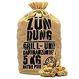 ZÜNDUNG 5 kg 100% nachhaltige Grill- und Kaminanzünder Holzwolle Wachs, Bio Grillanzünder Holzwolle, Feueranzünder, Holzanzünder (Grill-, Kamin- & Ofenanzünder)