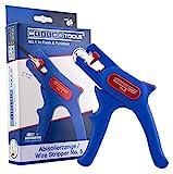 WEICON TOOLS Abisolierzange No. 5 | Automatische Abisolierzange für alle gängigen flexiblen und massiven Leiter von 0,2 - 6,0 mm²