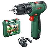 Bosch Home and Garden 06039D3170 Cordless Hammer Drill Battery, Carrying case Bosch Bohrhammer EasyImpact 1200 (1x Akku, 12 Volt System, im Transportkoffer)