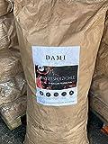 DAMI Holzkohle - Premium Grillkohle aus Mischholz - Ökologische Herstellung & Lange Brenndauer (3 x 10 kg)