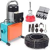 Rohrreinigungsmaschine Rohrreiniger Mit 16mm Drill Bit Abflussreinige Rohrreinigungsgerät 1500W