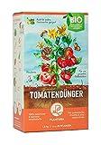 Plantura Bio Tomatendünger mit 3 Monaten Langzeit-Wirkung, 1,5 kg, für eine aromatische & reiche Tomatenernte, biologisch, unbedenklich für Haus- & Gartentiere, für Balkon und Garten, Tomaten Dünger