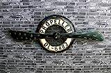 Tägliche Ausrüstung Wanddekoration Wandregal Wohnmöbel Wand Dekorative Retro Eisen Loft Industrieventilator Kreative Sprossenwand Internet Cafe Ornamente Wanddekorationen Hintergrund Wand Haushalt