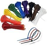 1200 Stück farbige Kabelbinder 100mm – Kabelbinder farbig bunt– Hohe Qualität Starke Nylon Zip Kabelbinder von, Kabelbinder Set - UV-Beständig,mehrfarbig