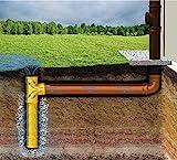 K + M Sickerschacht Drainage Abfluß Regenwasser HT KG Rohr Gully Schacht