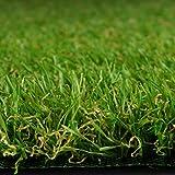Premium Kunstrasen | Rasenteppich | Rollrasen | Kunststoffrasen | Garten-Rasen | Rasen für Balkon, Terrasse & Garten | viele Modelle | verschiedene Größen & Stärken (Riviera (Höhe: 14mm), 200x500 cm)