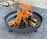 Czaja Feuerschalen® Feuerschale Bonn Ø 80 cm - mit Wasserablaufbohrung - Feuerschalen für den Garten, Terrasse und Balkon, Feuertonne und Feuerkorb , große Feuerstelle für den Garten