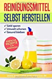 REINIGUNGSMITTEL SELBST HERSTELLEN: DIY Putzmittel einfach selber machen (Bio Putzmittel, Band 2)