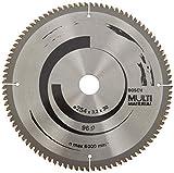 Bosch Professional Kreissägeblatt Multi Material (für Spanplatten, Faserwerkstoffe, Kunststoffe und Nichteisenmetalle, 254 x 30 x 3,2 mm, 96 Zähne, Zubehör Kreissäge)