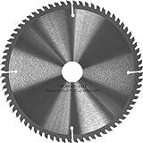 Kreissägeblatt Aluminium Kunststoff NE-Metalle Ø 160mm x 30mm HM 60 Zähne - Diamantschliff - inkl. 4 Reduzierringen.