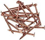 Kupfer Baumstumpf Killer/Solid Kupfer Schlagkraft Nägel - Eltern - 30 x 65mm