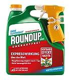 Roundup Express Unkrautfrei, Anwendungsfertiges Spray zur Bekämpfung von Unkräutern, Gräsern und Moos, 3 Liter Sprühsystem