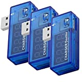 AZDelivery 3 x USB Charger Doctor Multimeter Ladegerät Detektor Stromverbrauchsmesser Spannungsmesser Digitaler Voltmeter