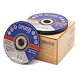 50 Stück Trennscheibe 125 Metall - 50x Trennscheiben 125 x 1,0 mm/Flexscheiben 125 Metall dünn 1mm / Bohrung: 22,23 mm/für Trenn- oder Winkelschleifer