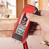2,1 x 5,4 Zoll Feuchtigkeitsmesser, Holzfeuchtemesser, für den professionellen Einsatz von Holzwerkstoffen in der Forstwirtschaft