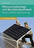 Photovoltaikanlage und Blockheizkraftwerk: Steuern, Technik und Umsetzung