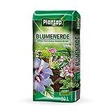 Plantop Blumenerde 20 Liter Premium Planzerde Topferde für Zimmer- und Balkonpflanzen