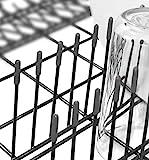 150x Premium Spülmaschinen-Gestell-Abdeckkappen für alle Geschirrkörbe | starker Rost Schutz | grau | 1 Jahr Garantie (150 Stück)