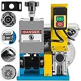 Mophorn Kabelschälmaschine 1,5mm-25mm Kabel Abisoliermaschine 220V 50HZ elektrische Abisoliermaschine mit einstellbaren Klingen und Rollen
