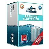 IVARIO Bakterien Premium Labor-Wassertest für Trinkwasser/Leitungswasser, Experten-Analyse im akkreditierten Fachlabor/24h-Versand/Einfache Probenahme