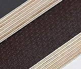 24mm Multiplex Zuschnitt Siebdruckplatten Multiplexplatten Zuschnitte Melaminbeschichtet Birke Bodenplatte Holz Braun (Breite 30 cm, Länge 60 cm)