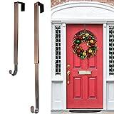 Heyhouse Kranzaufhänger, verstellbarer Kranzaufhänger für die Haustür von 37,8 - 63,5 cm, 9 kg, größerer Türkranzaufhänger für Weihnachtskränze