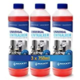 Maxxi Clean Power Universal Entkalker für Ihren Kaffeevollautomaten | Für alle bekannten Marken geeignet | Kalklöser für extra gründliche Reinigung (3x 750 ml)