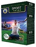 GREEN HOBBY SPORT Premium Rasensamen-Mischung Für Sport und Spiel, Fussball-Rasen, Rasen-Saatgut für Nachsaat & Einsaat, Robust & Trittfest Für Spielplätze 1,2kg