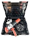 Betonfräse Power-Set | Flex 1400W + Longlife Speed-DUO Diamantschleiftopf + Absaughaube