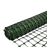 SORARA Schutzzaun Kunststoffgitter Absperrnetz   Grün   30 m Rolle   1,2 M hoch