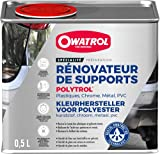 OWATROL – POLYTROL – 0,5 L – Auffrischer für Kunststoff und viele andere Oberflächen und Materialien – Auffrischer für Fahrzeuge Haus Boden Gartenmöbel Motorräder Stein Marmor Metall – Auffrischer für den Außen- und Innenbereich