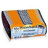 10x Swirl Fixierband Müllbeutel 10L (15 stk/Rolle)
