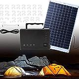 NUB Solarmodul Solarpanel Monokristallin Solarzelle Photovoltaik Solarladegerät Solaranlage Flexibel mit Ladekabel für Wohnmobil, Auto, Boot 12V Batterien