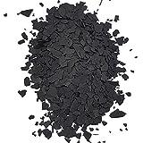 Farbchips für Epoxidharz Bodenbeschichtung Bodenfarbe Colorchips Schwarz - 500g