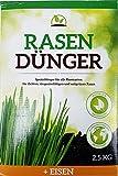Rasendünger Spezialdünger +Eisen 2,5kg